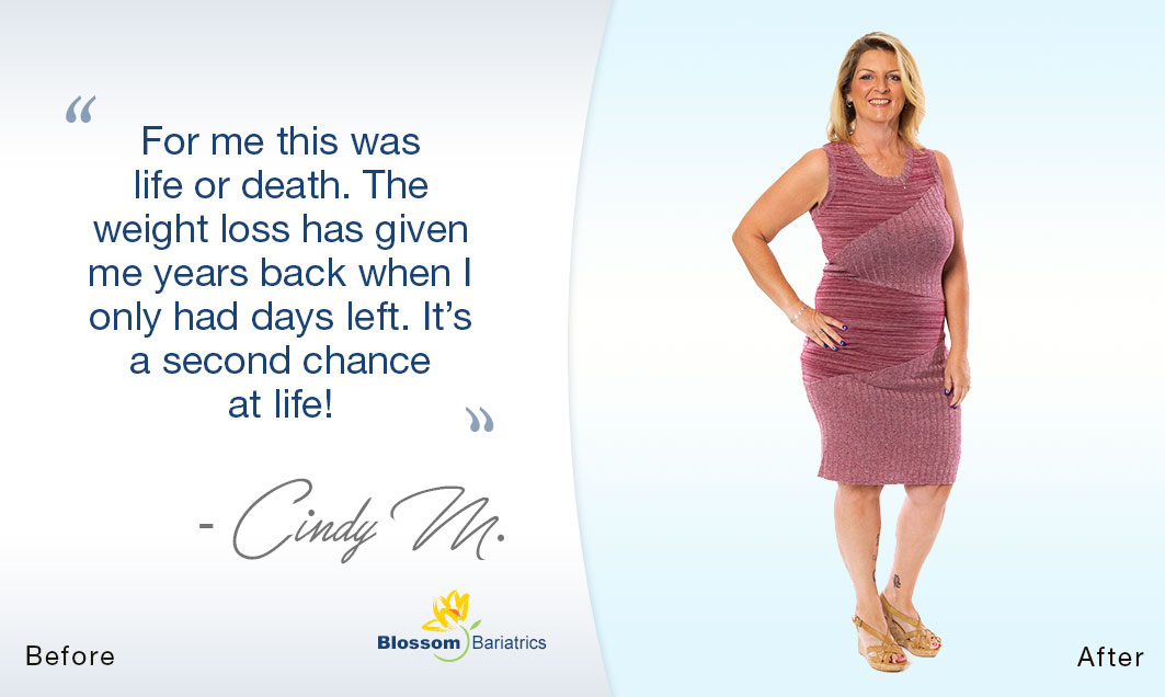 Cindys Weight Loss Journey
